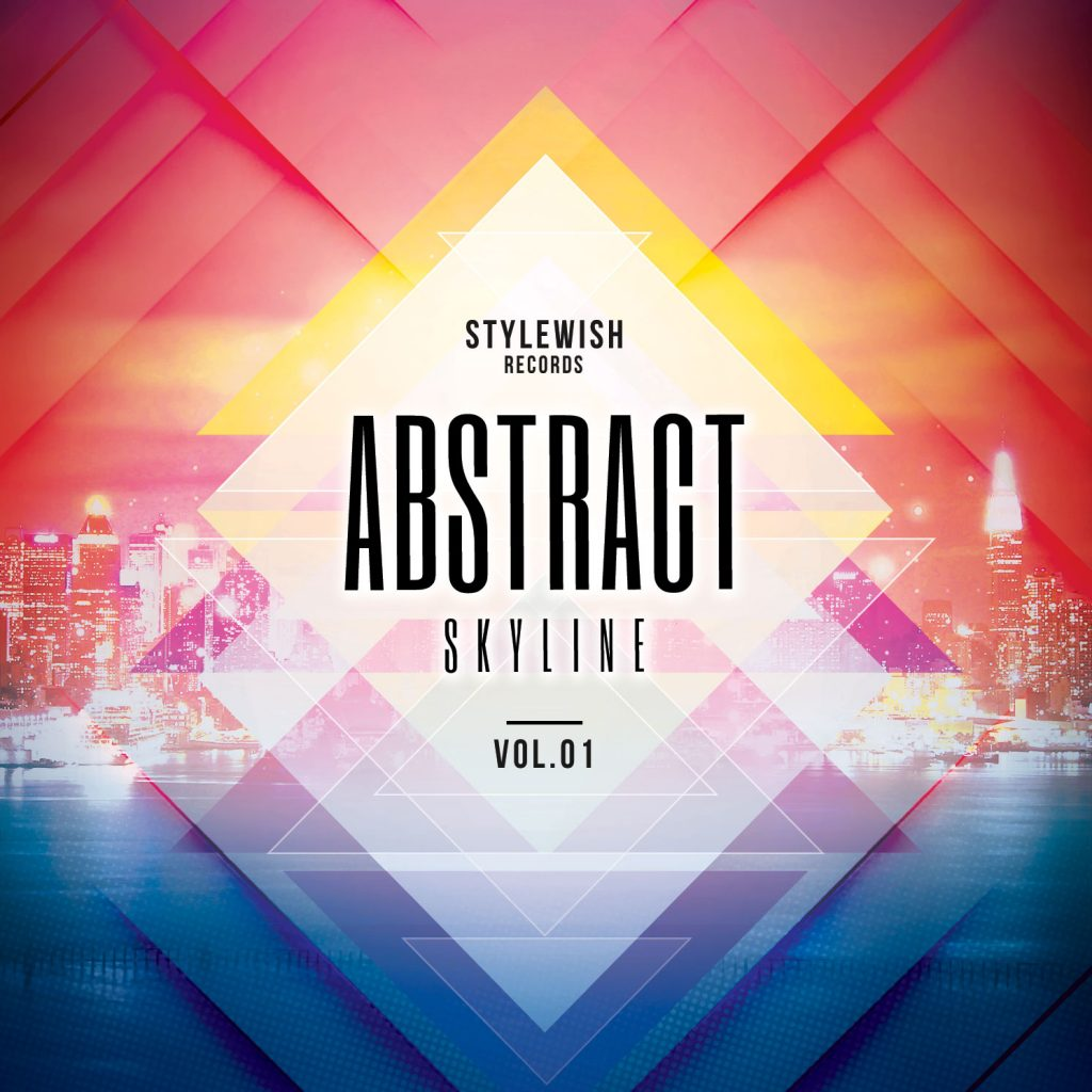 Abstract Skyline CD Cover Artwork