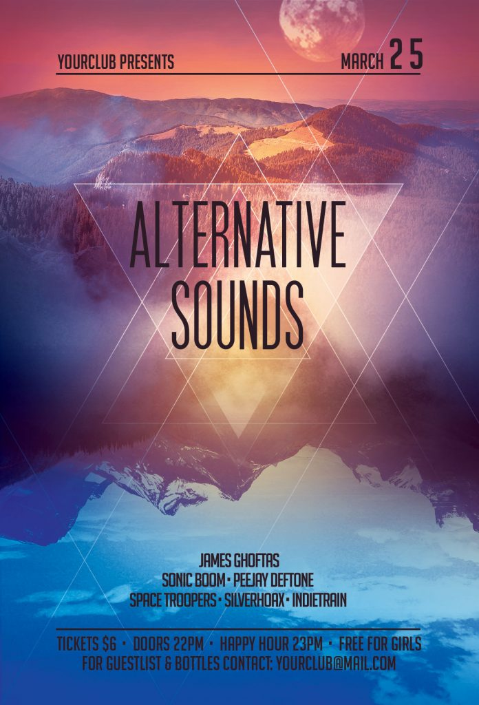 Alternative Sounds Flyer Template