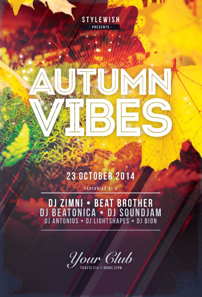 Autumn Vibes Flyer Template