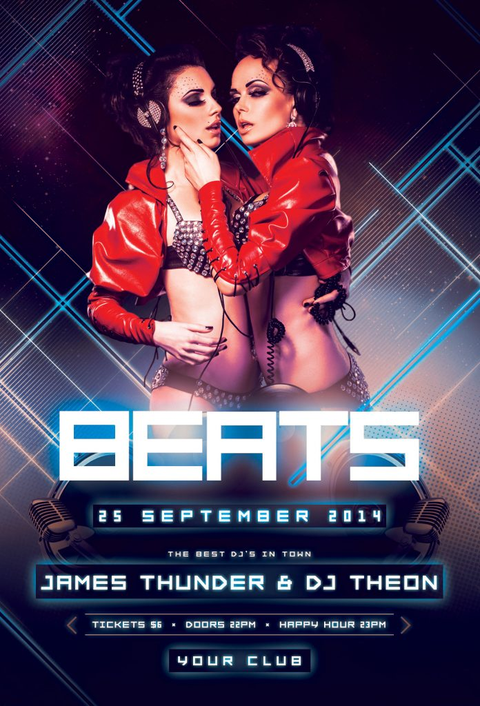 Beats Flyer Template