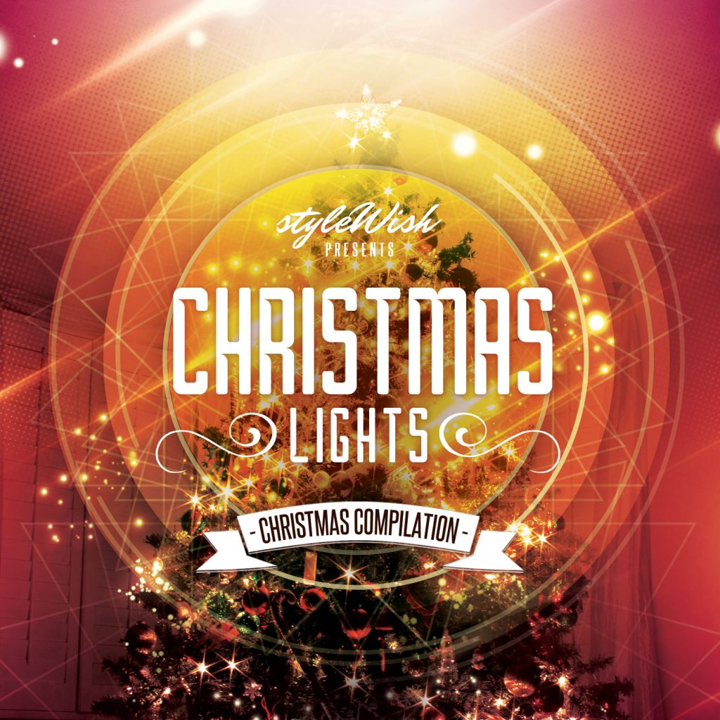 Christmas Lights CD Cover Artwork