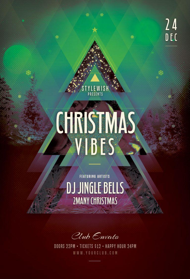 Christmas Vibes Flyer Template