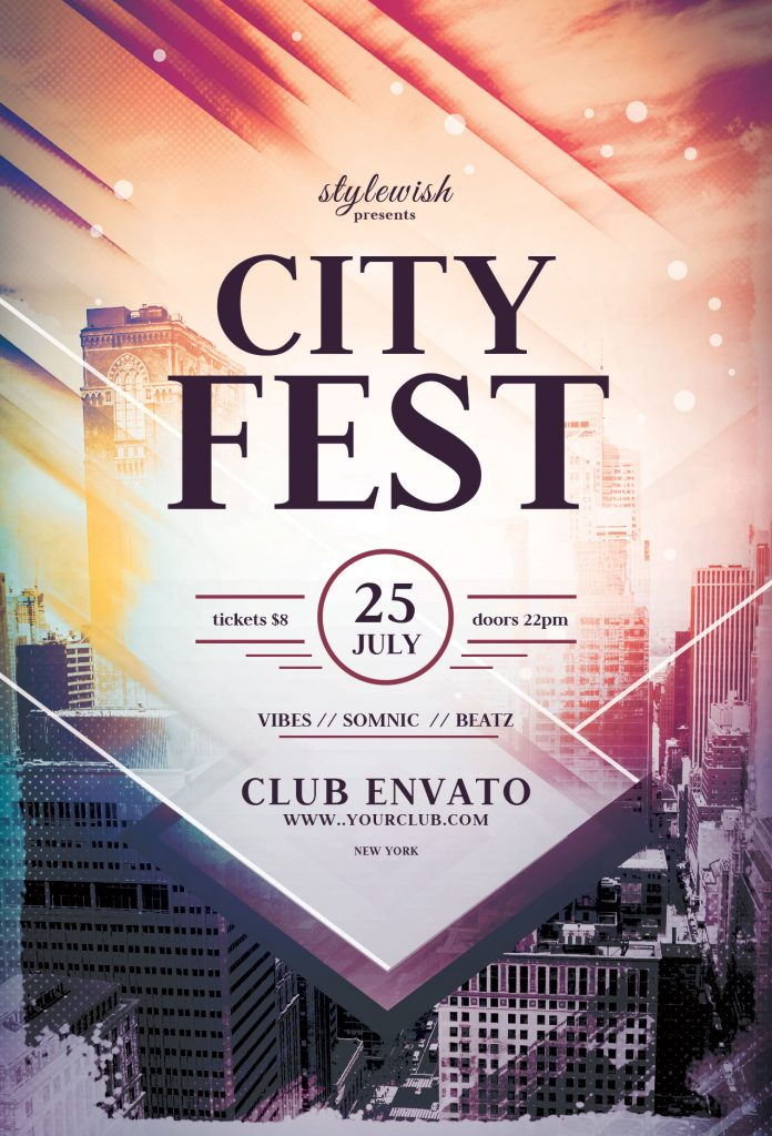 City Fest Flyer Template