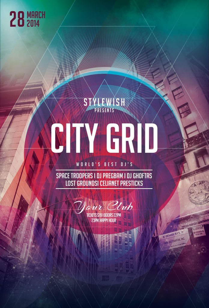 City Grid Flyer Template