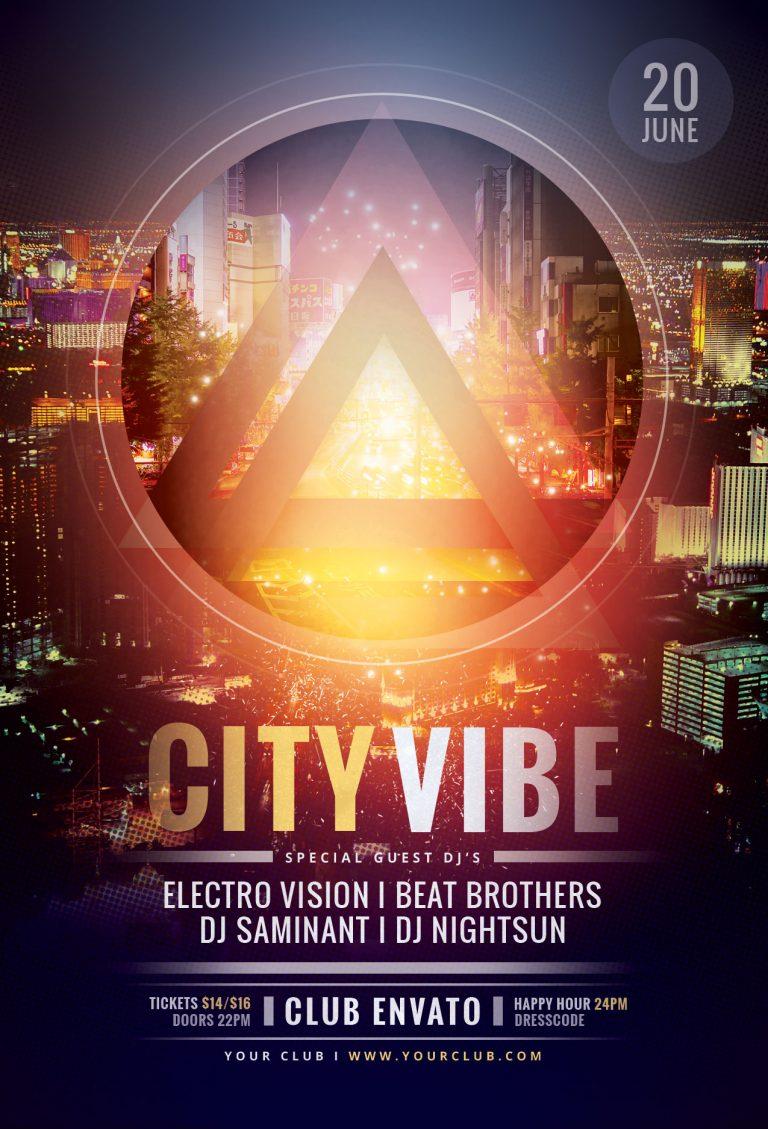 City Vibe Flyer Template