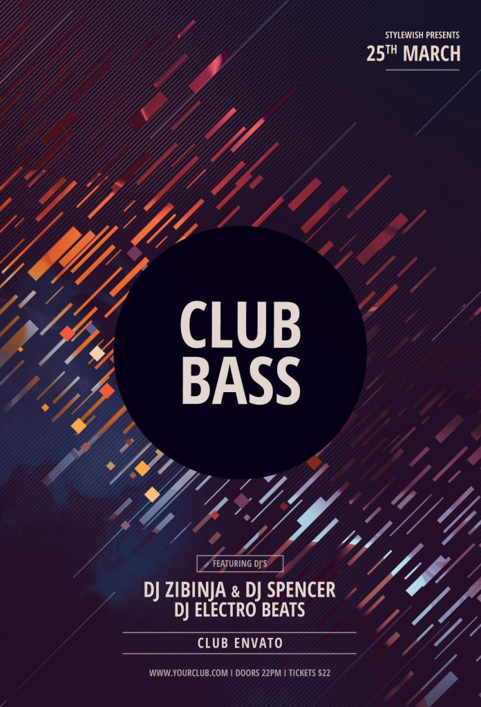 Club Bass Flyer Template