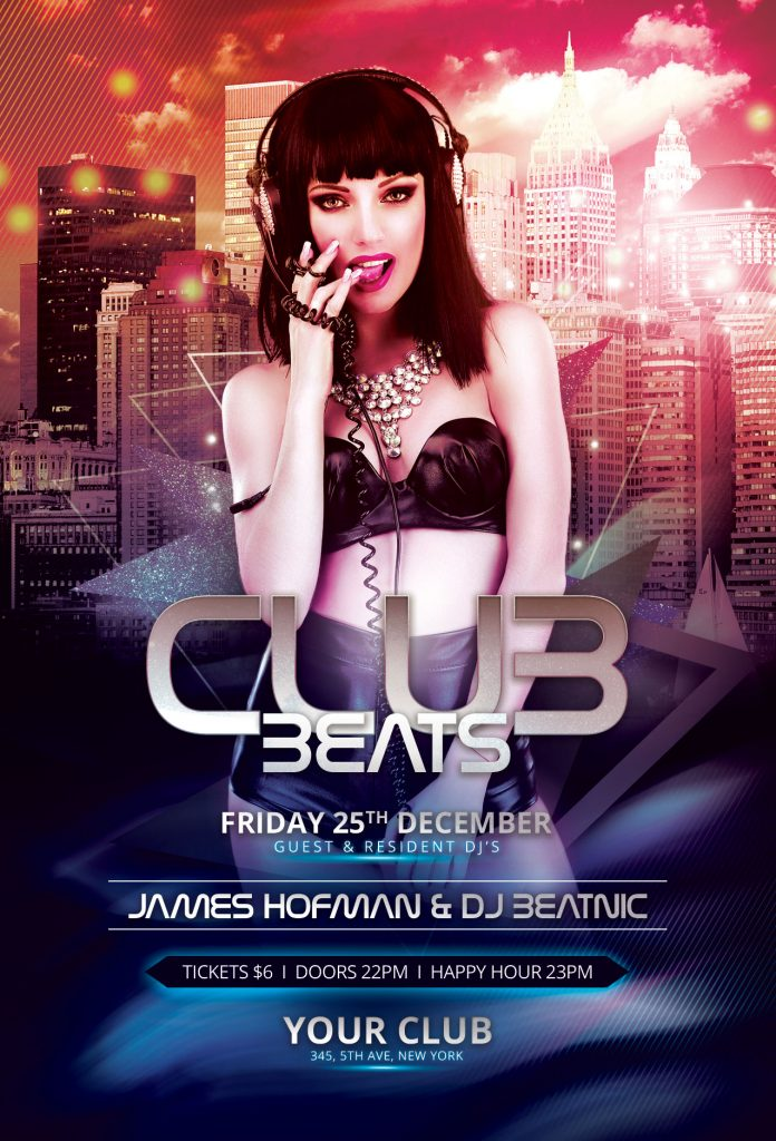 Club Beats Flyer Template
