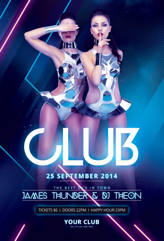 Club Flyer Template