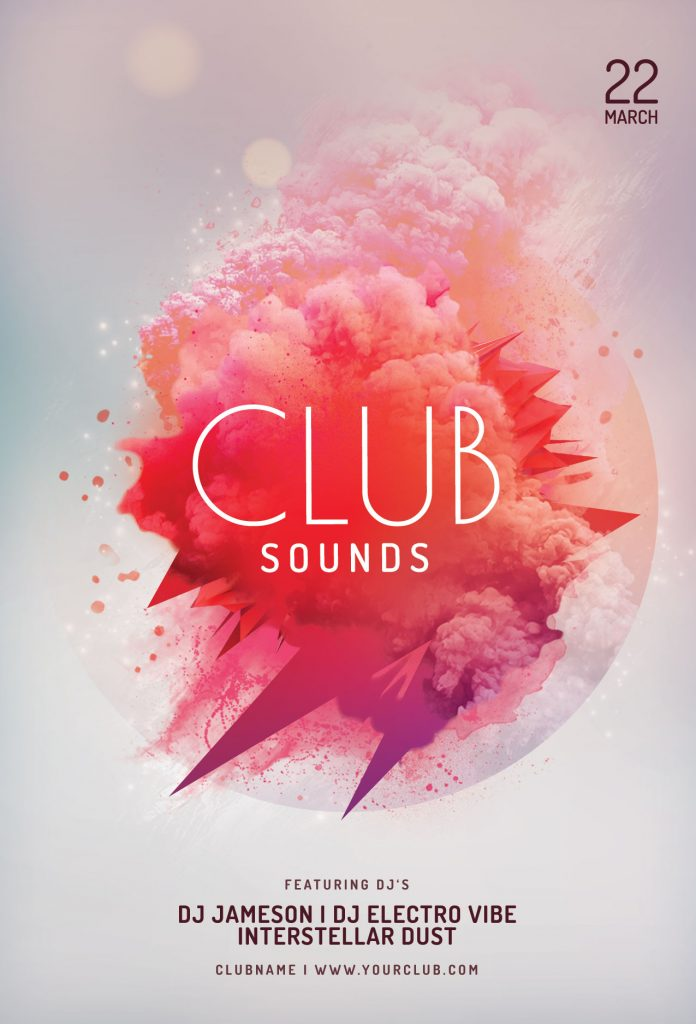 Club Sounds Flyer Template