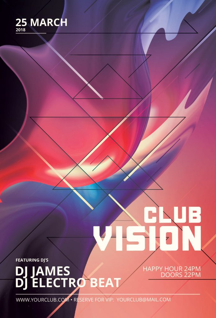 Club Vision Flyer Template
