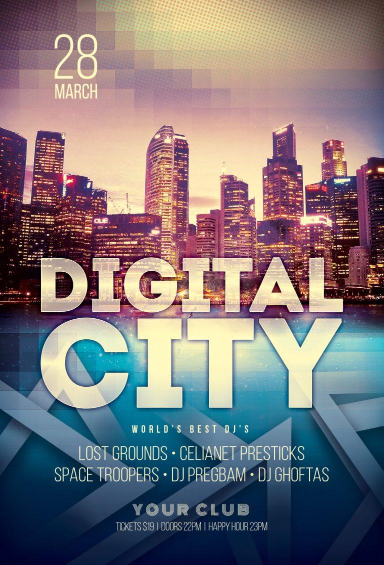 Digital City Flyer Template