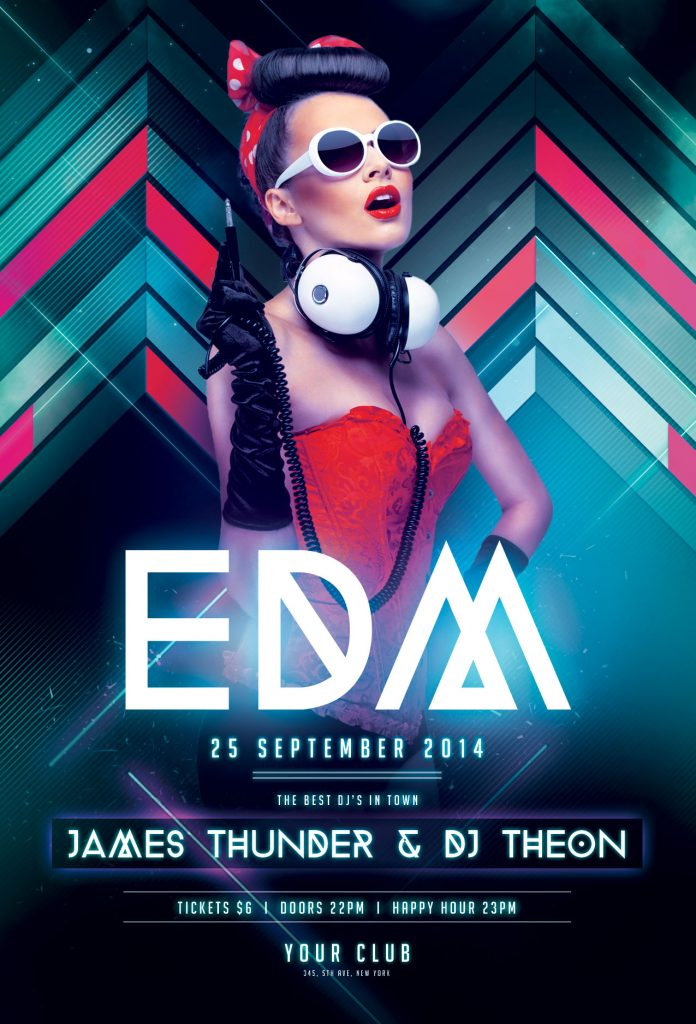 EDM Flyer Template