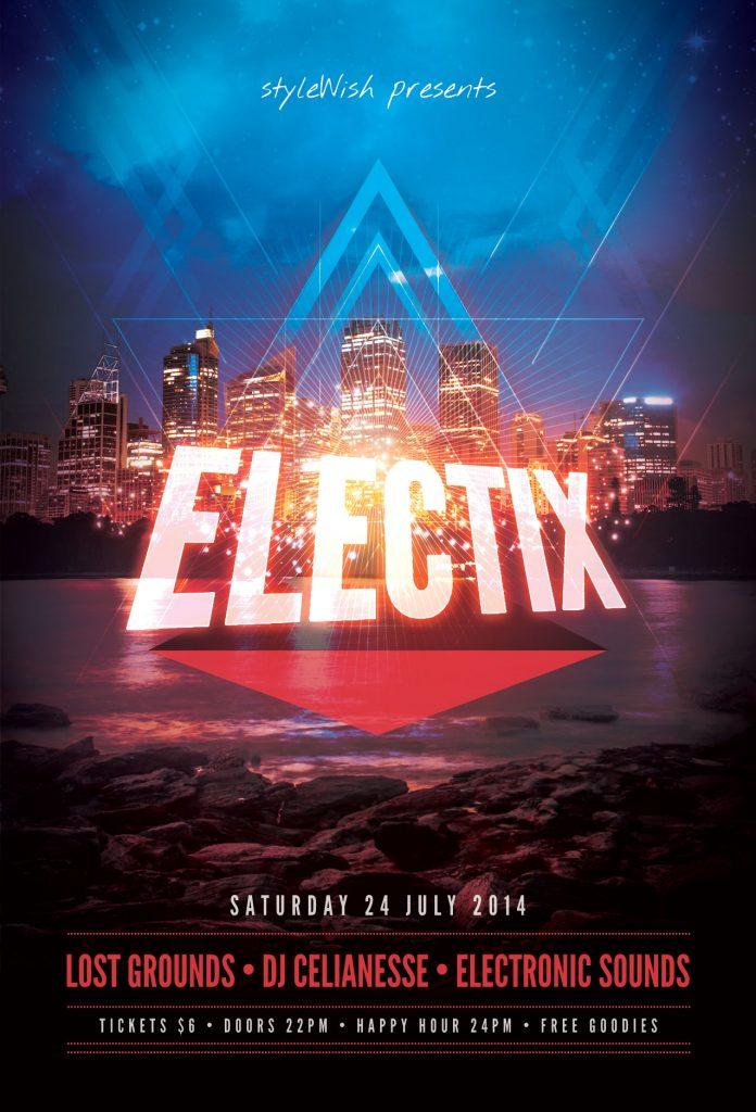 Electix Flyer Template