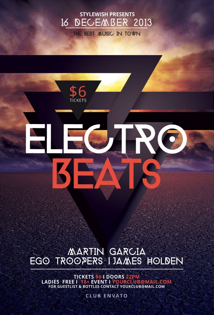 Electro Beats Flyer Template