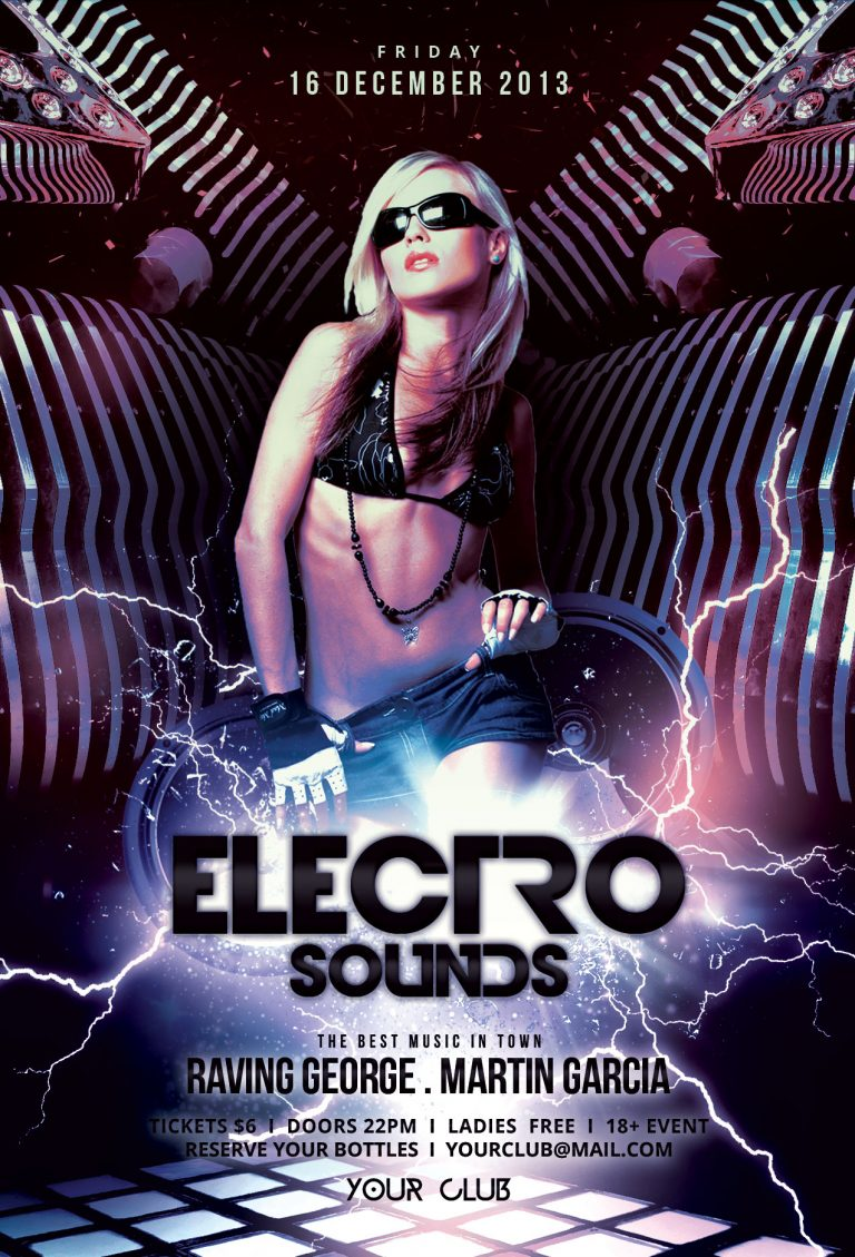 Electro Sounds Flyer Template