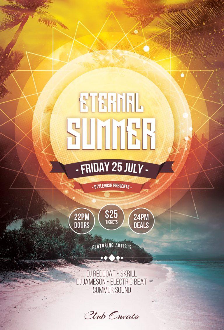 Eternal Summer Flyer Template