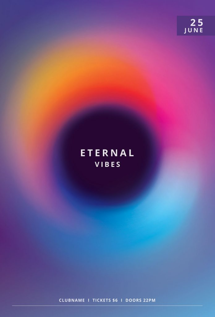 Eternal Vibes Flyer Template