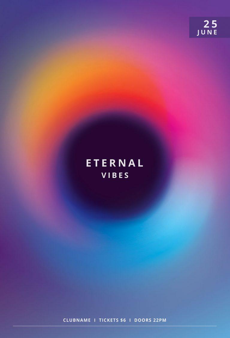 Eternal Vibes Flyer Template