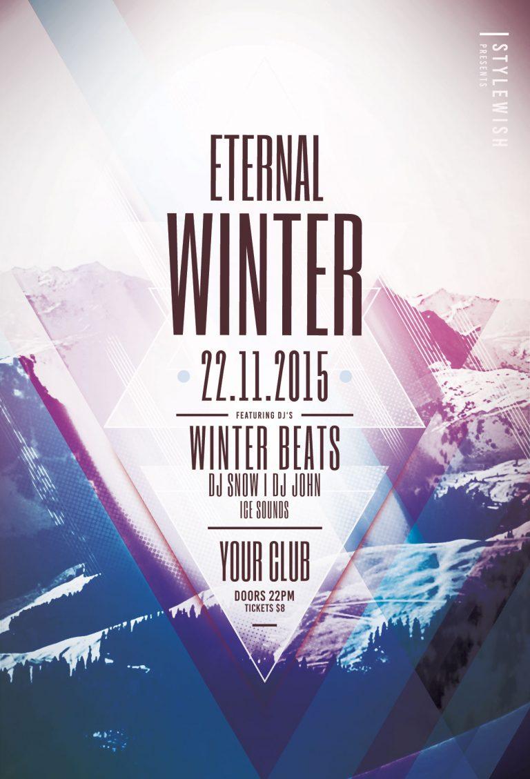 Eternal Winter Flyer Template