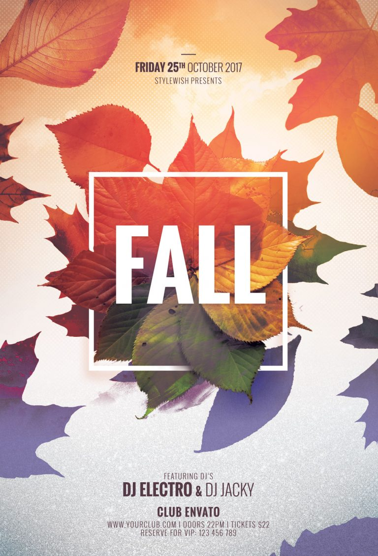 Fall Flyer Template