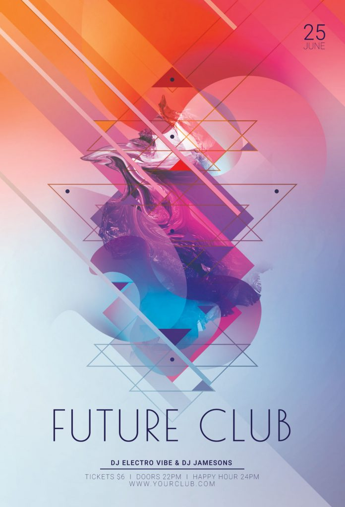 Future Club Flyer Template