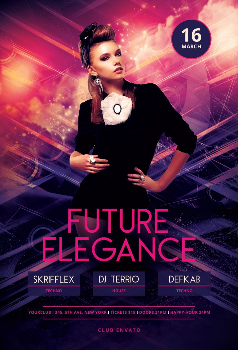 Future Elegance Flyer Template