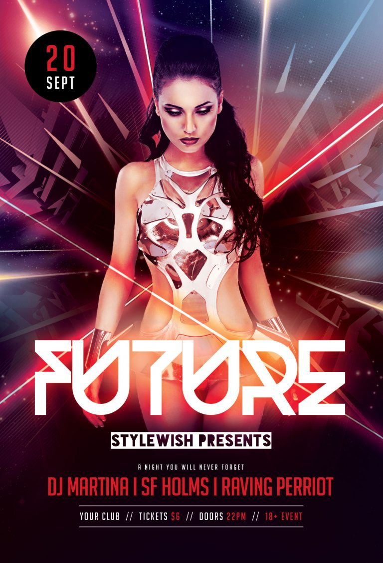 Future Flyer Template