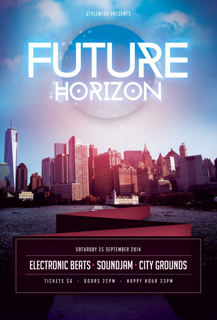 Future Horizon Flyer Template
