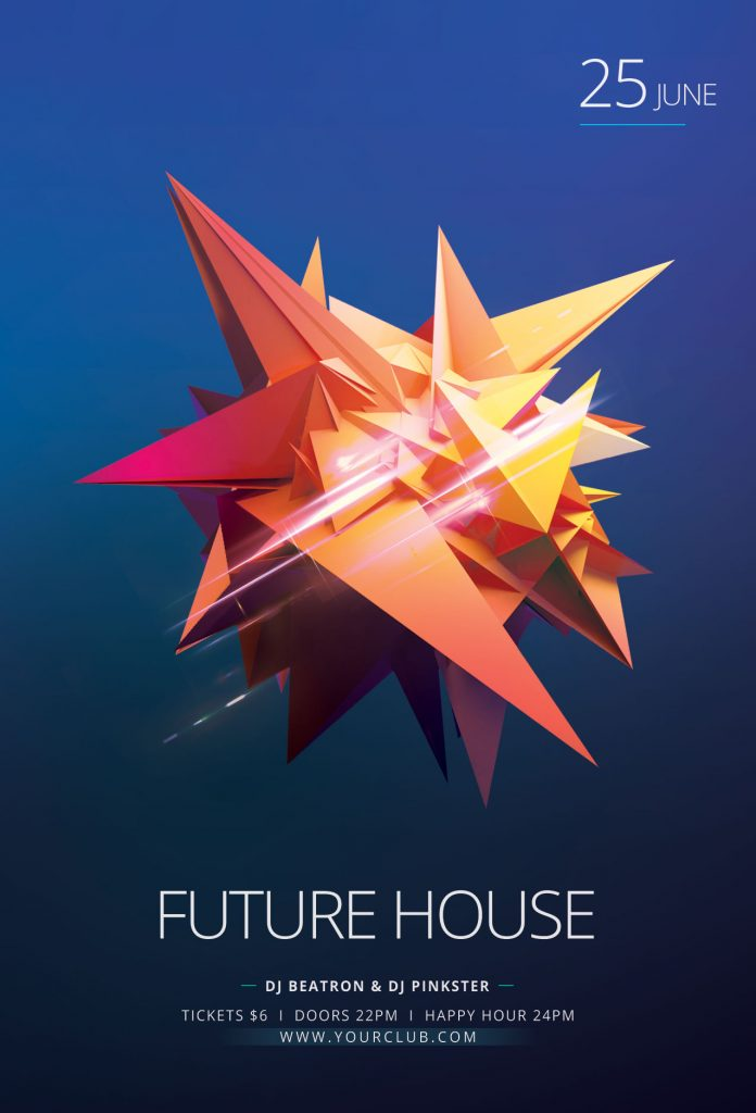 Future House Flyer Template