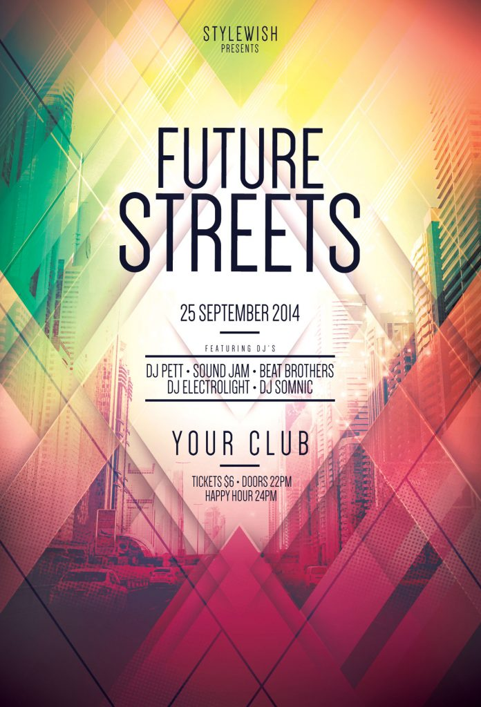 Future Streets Flyer Template