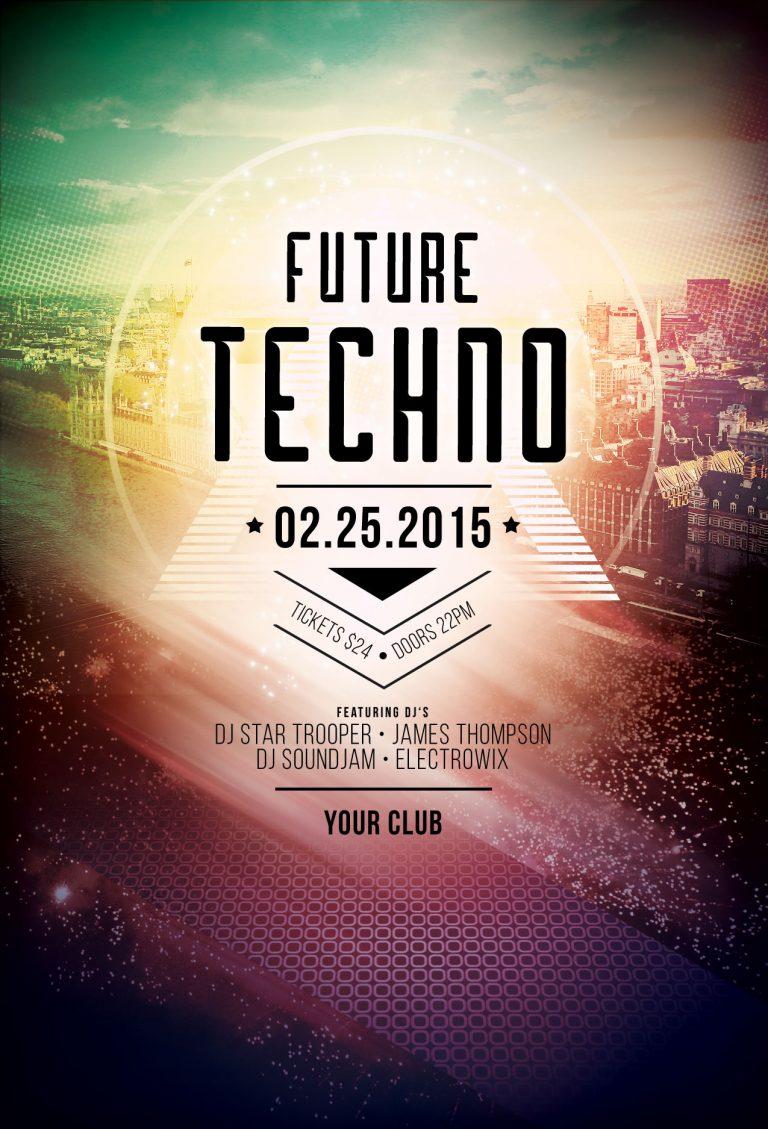 Future Tecno Flyer Template