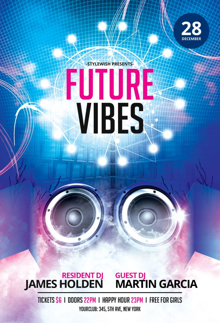 Future Vibes Flyer Template