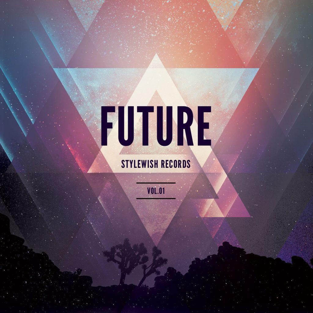 Futuristic CD Cover Artwork