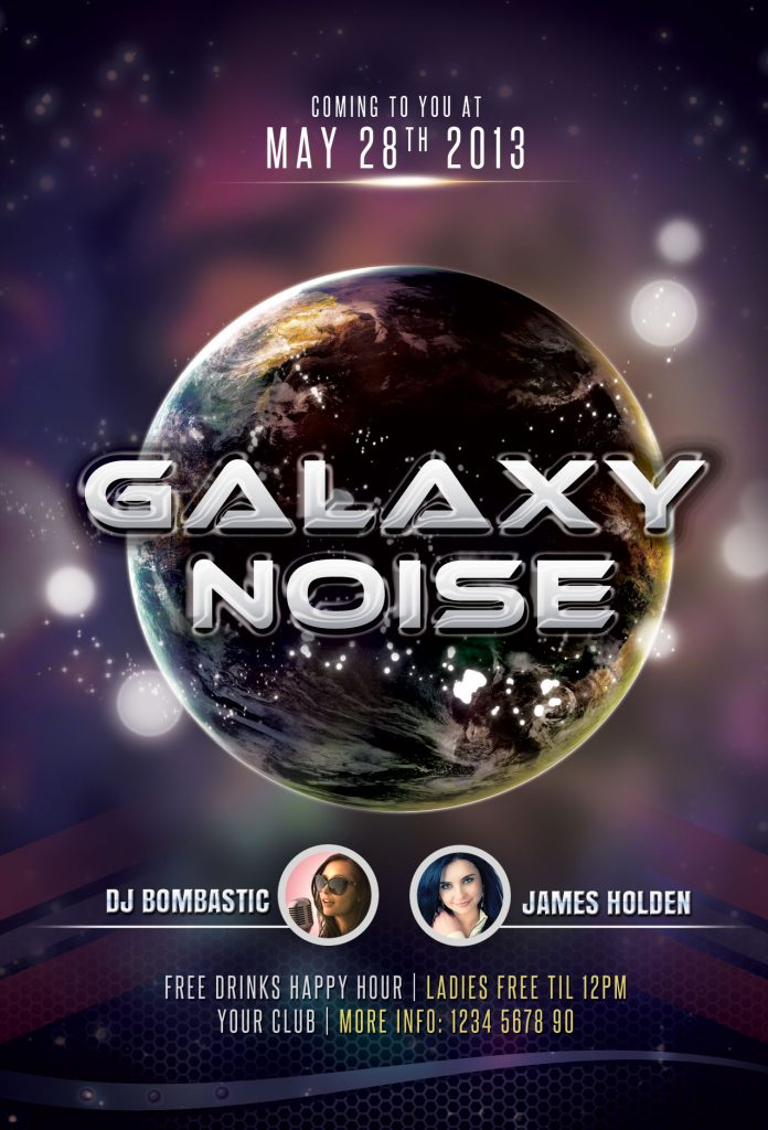 Galaxy Noise Flyer Template