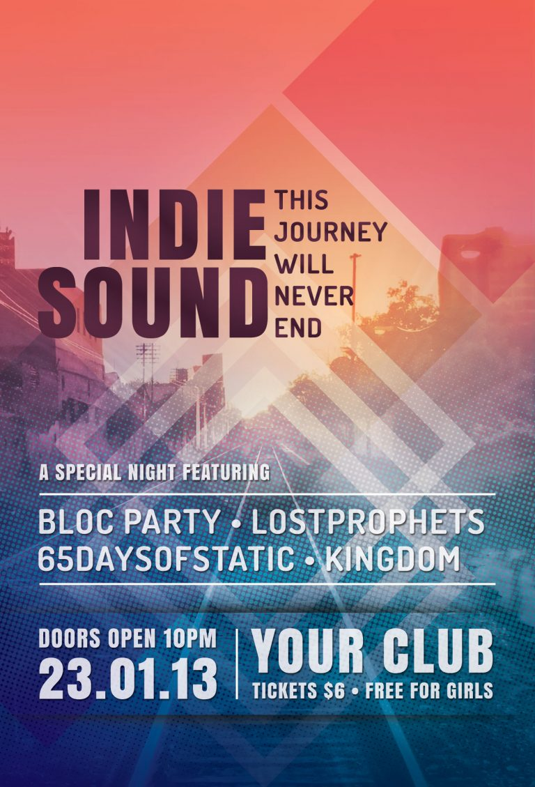 Indie Sound Flyer Template