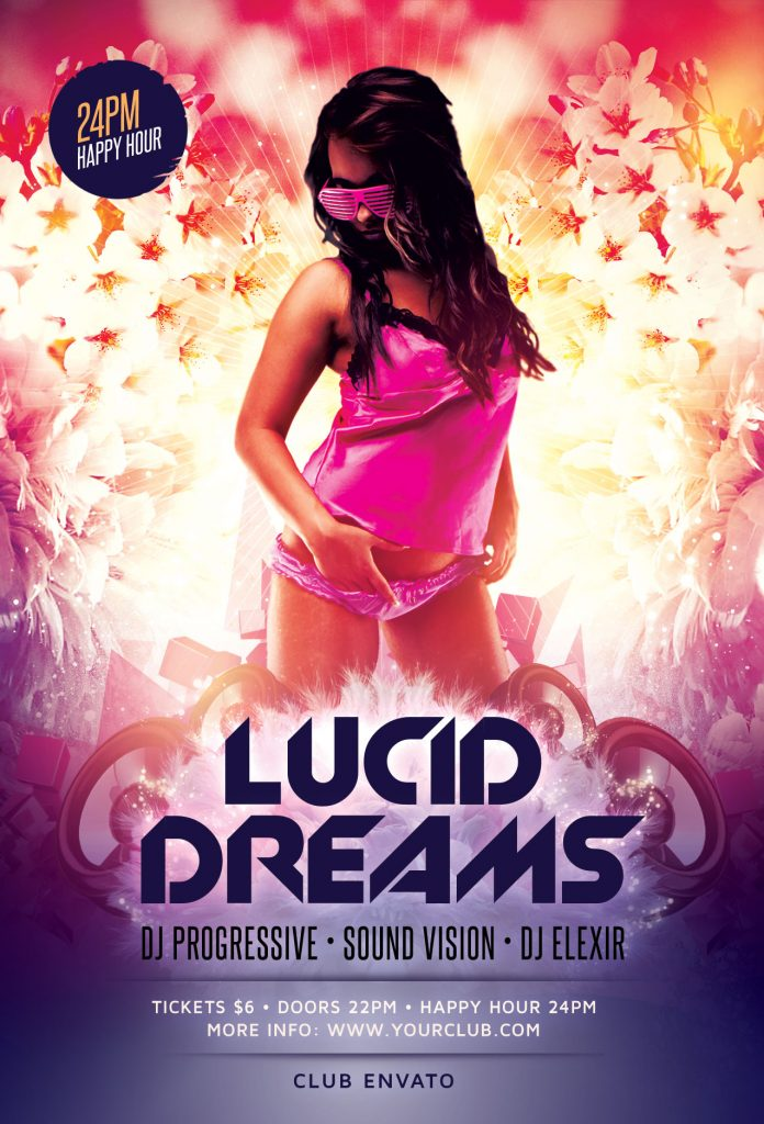Lucid Dreams Flyer Template