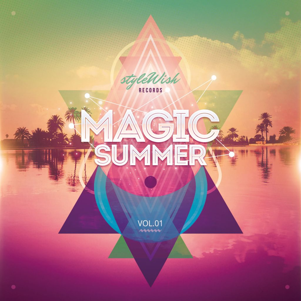 Magic Summer CD Cover Artwork