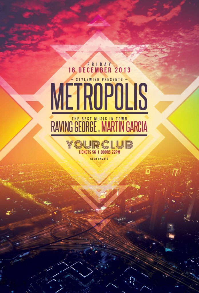 Metropolis Flyer Template