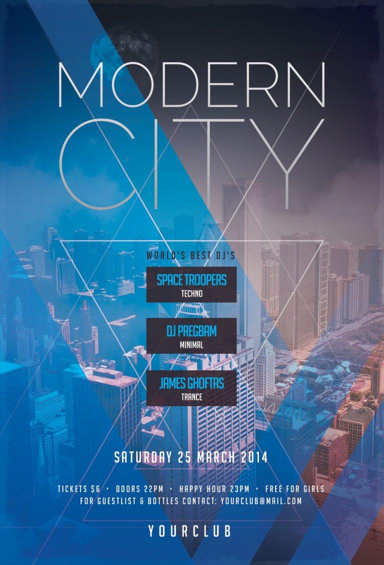 Modern City Flyer Template
