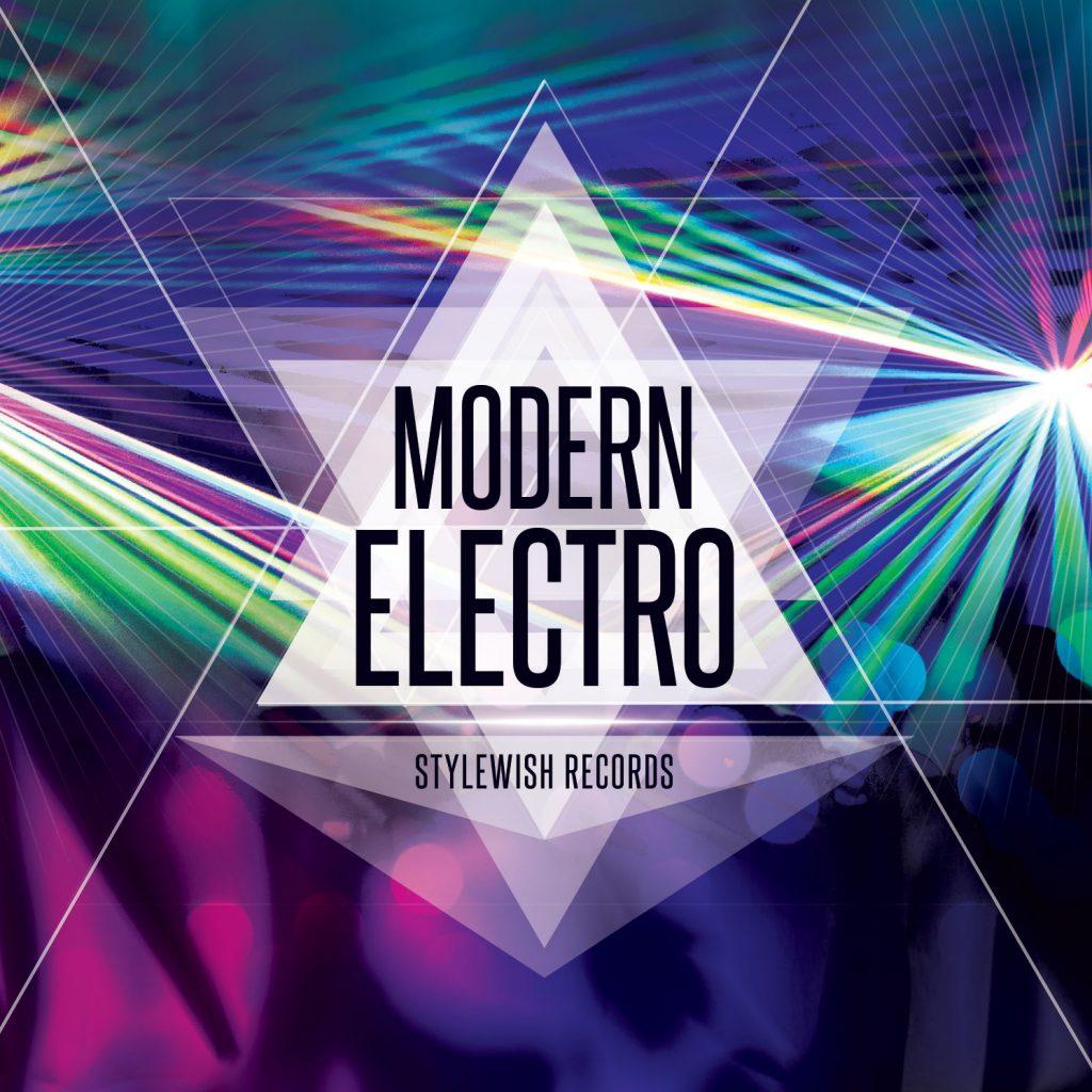 Modern Electro CD Cover Artwork