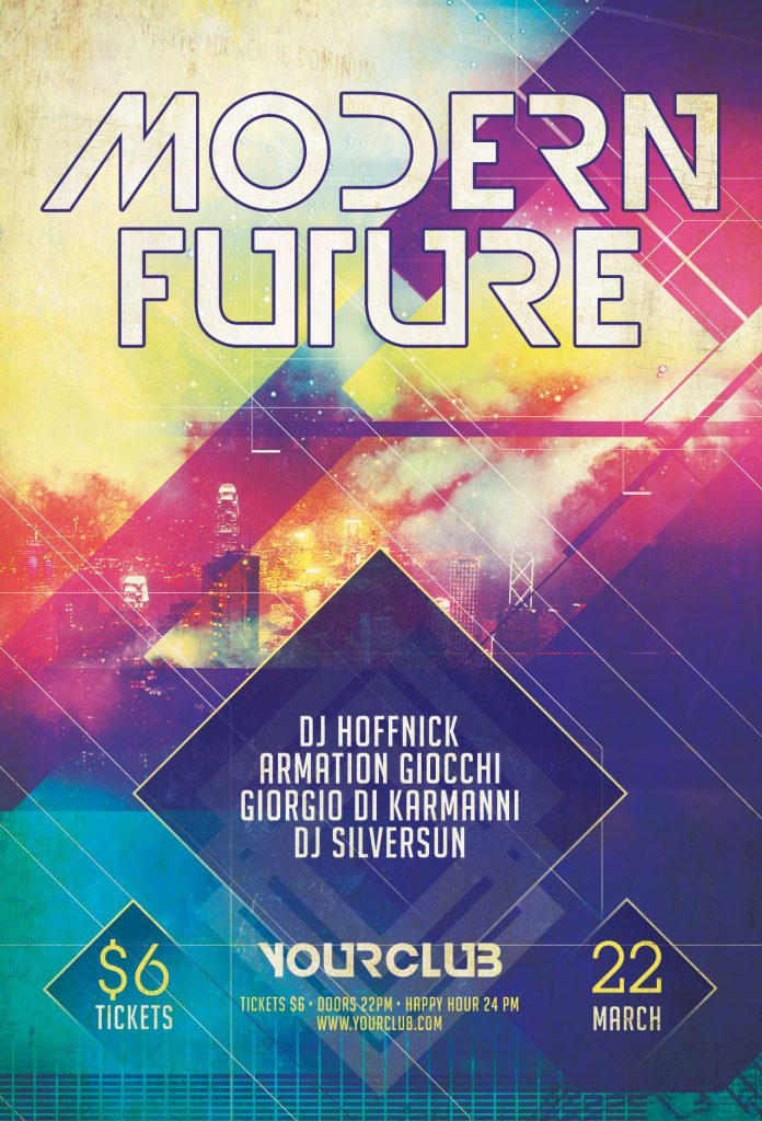 Modern Future Flyer Template