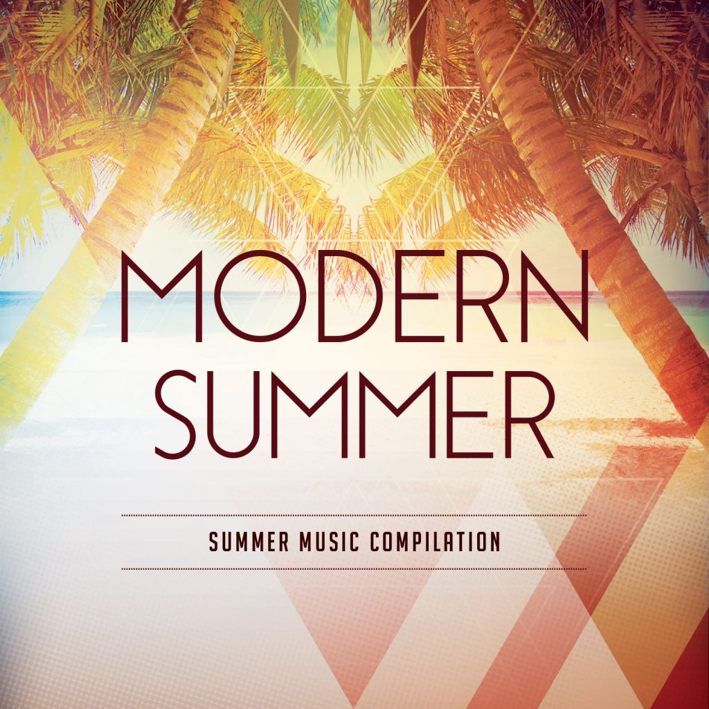 Modern Summer CD Cover Artwork