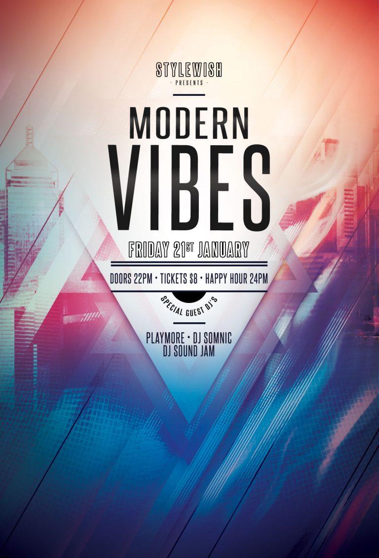 Modern Vibes Flyer Template