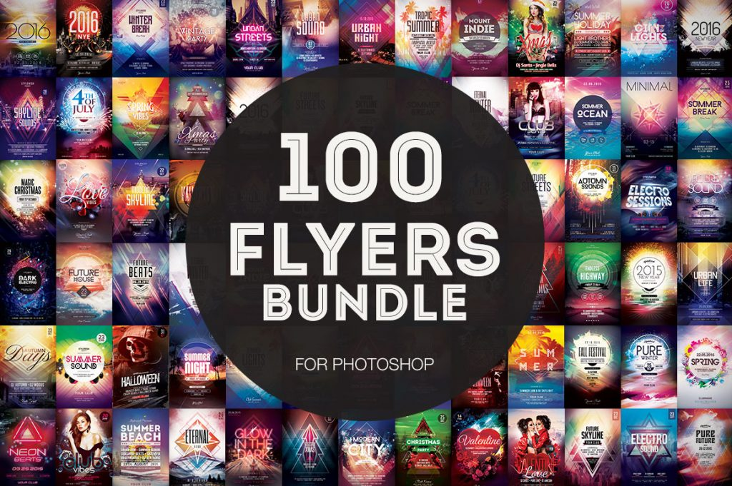 100+ Flyer Temlpates - Mega Bundle