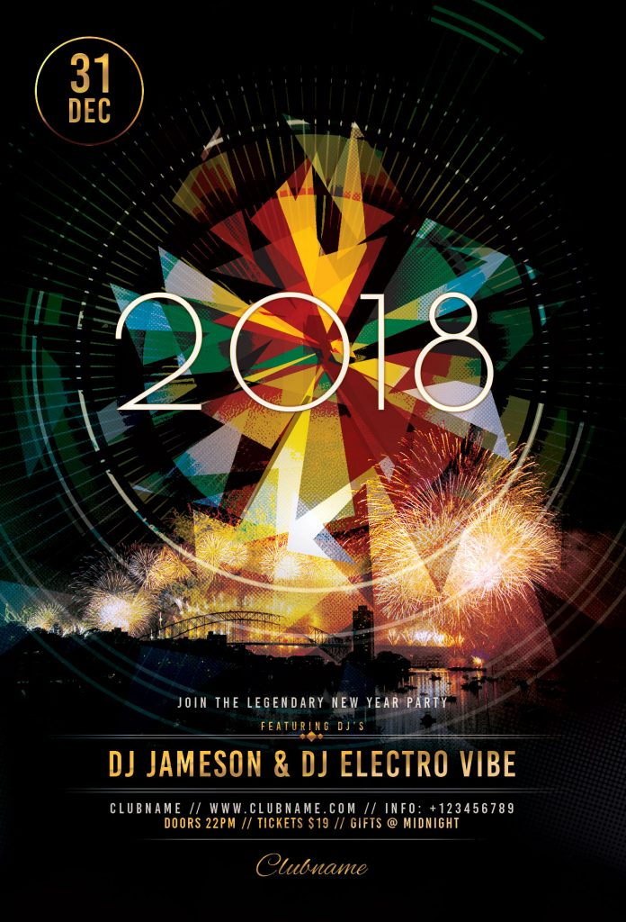 NYE 2019 Flyer Template