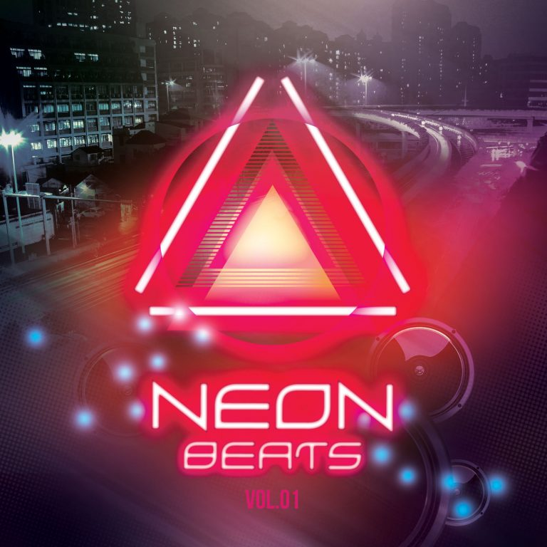 Neon Beats CD Cover Artwork