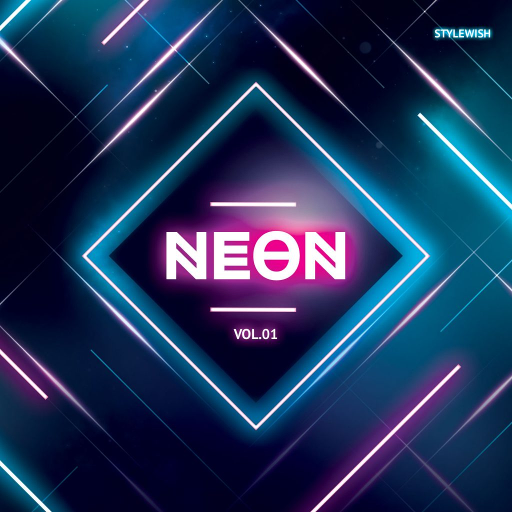 Neon CD Cover Artwork