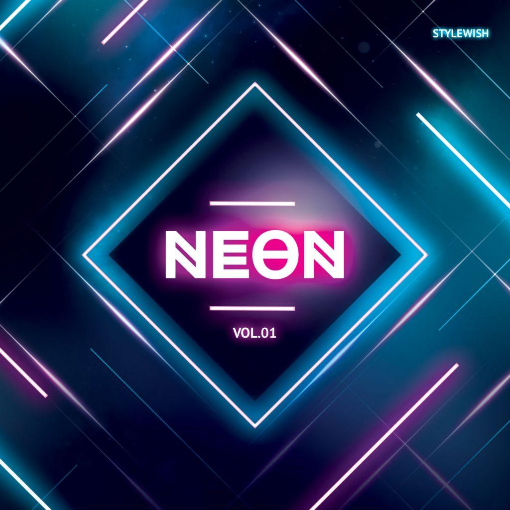 Neon CD Cover Artwork