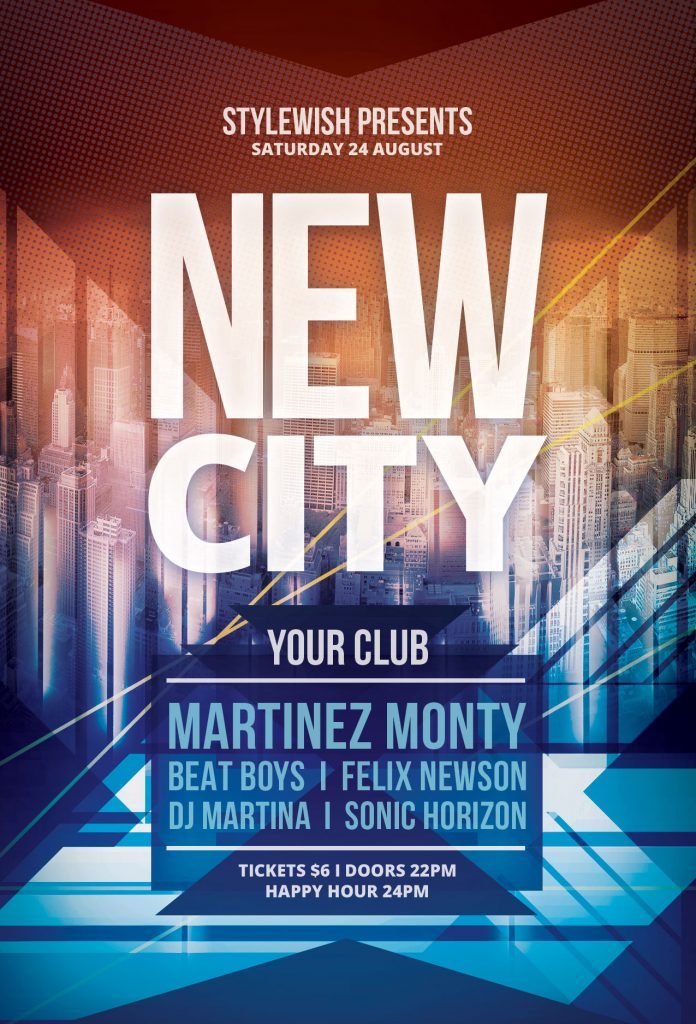 New City Flyer Template
