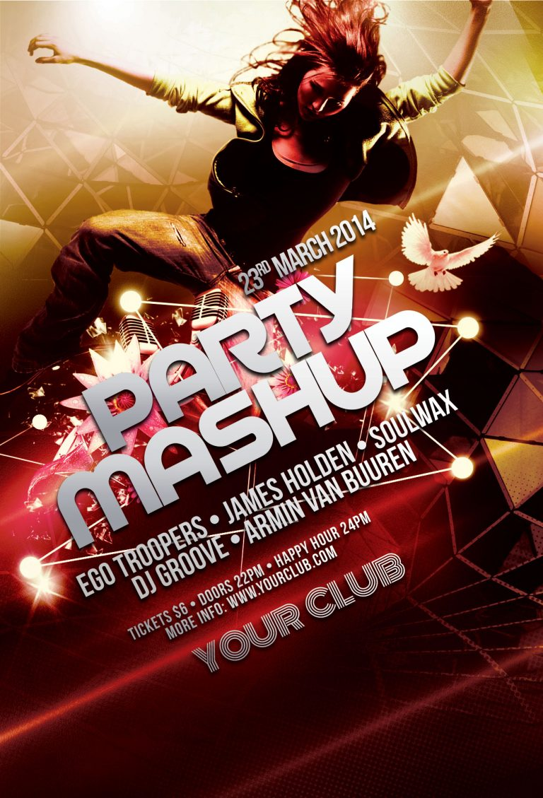 Party Mashup Flyer Template